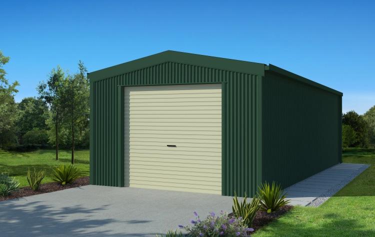 Mykit garage mykit for Single garage kit